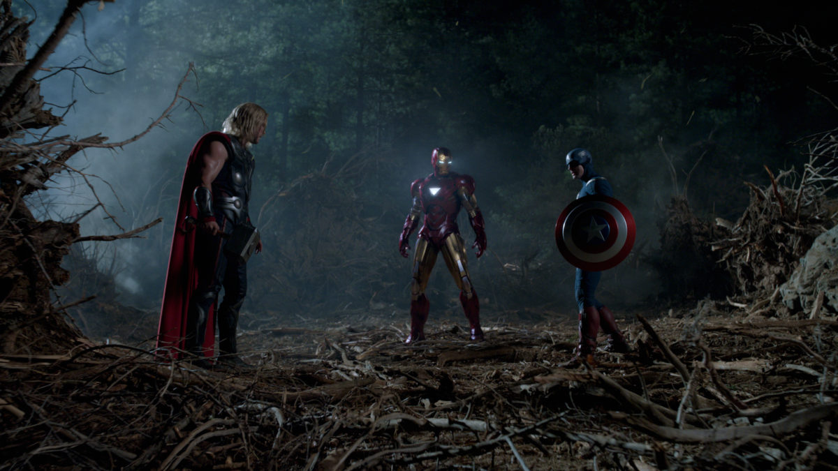 The Avengers, first round
