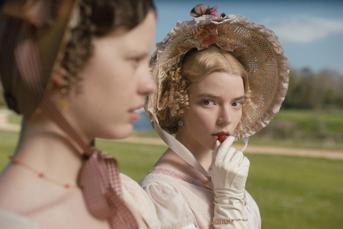 Anya Taylor-Joy com a Emma, de Jane Austen